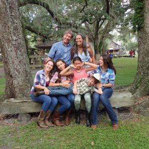 Tucker Family photo from 2017